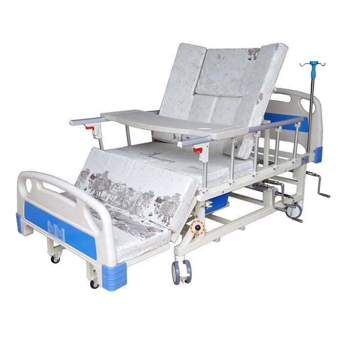 Giường bệnh nhân 4 tay quay đa chức năng LUCASS GB-T41